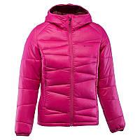 Куртка женская пуховая теплая Quechua X-LIGHT 2 розовая