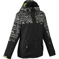 Куртка женская лыжная теплая Roxy черная