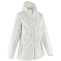 Куртка женская легкая от дождя Quechua ARPENAZ 20 белая
