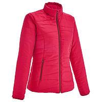 Куртка женская легкая осенняя Quechua RAICUT ZIP розовая