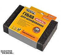 Губка шлифовальная Mastertool - 100 x 70 x 25мм  P60