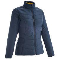 Куртка женская легкая осенняя Quechua RAICUT ZIP синяя
