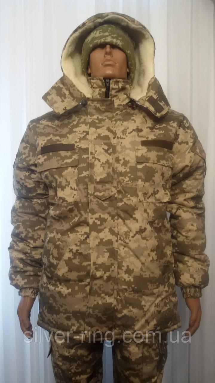 Бушлат армейский зимний + штаны утепленные