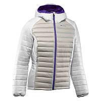 Куртка женская пуховая теплая Quechua X-LIGHT белая