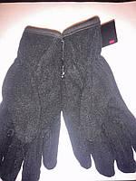 Перчатки зимние флисовые двойные Польша, фото 1