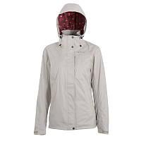 Куртка женская водонепроницаемая утепленная Quechua ARPENAZ 300 RAIN 3 IN 1 белая