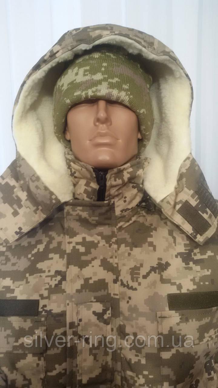 Бушлат армейский зимний Пиксель, на меху 54
