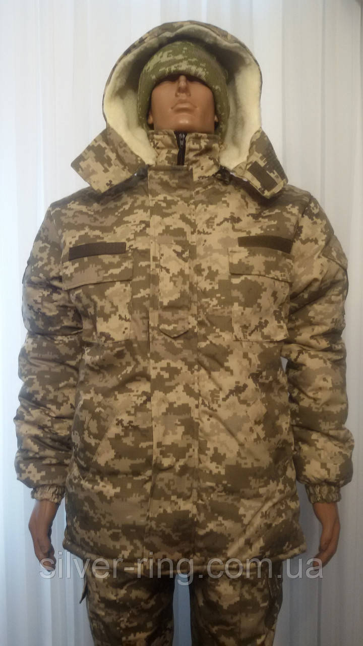 Бушлат армейский зимний + штаны утепленные 56