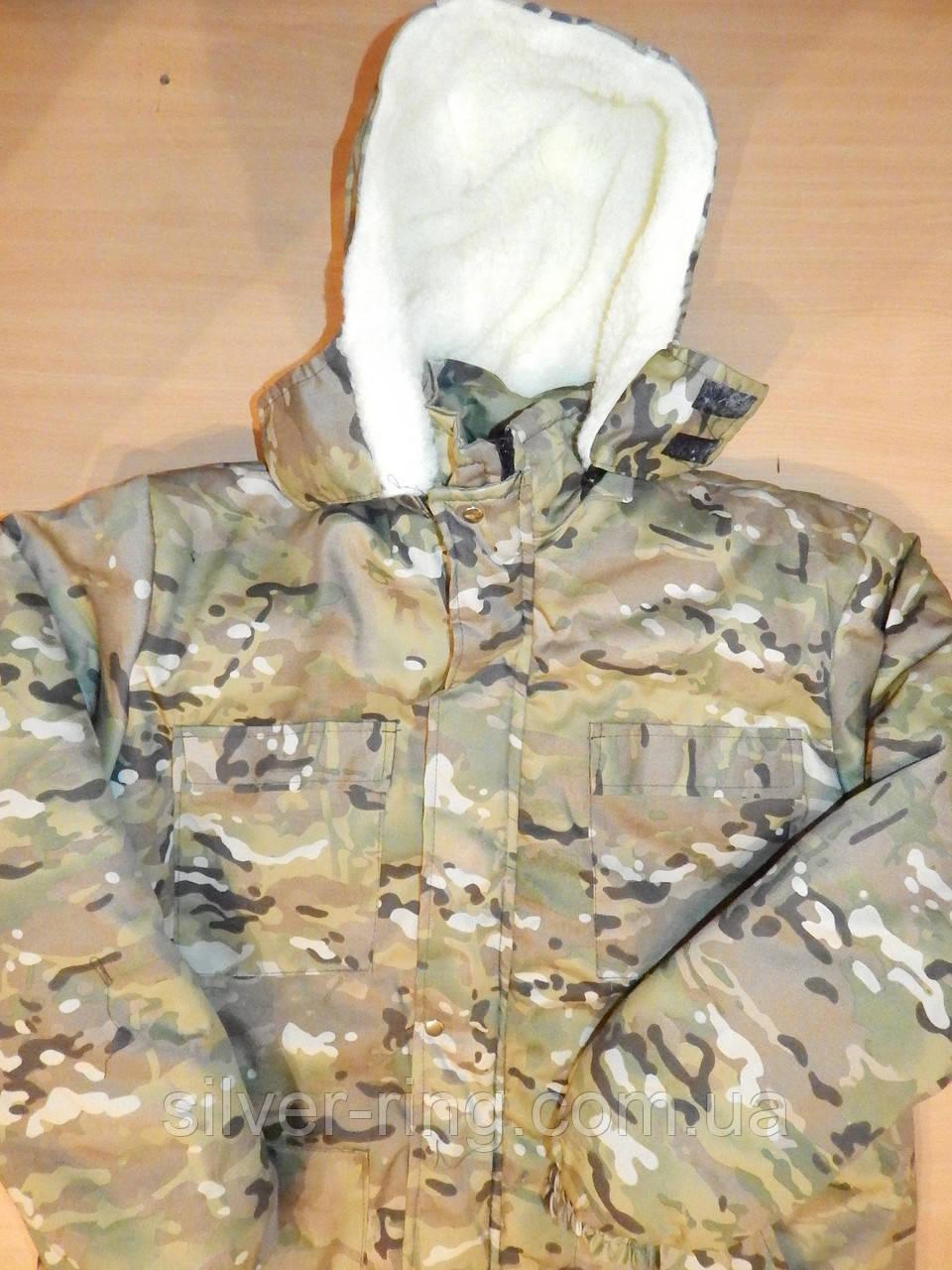 Бушлат армейский утепленный на меху р.46-60