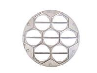 Вареничница алюминиевая круглая на 7 изделий, форма для вареников
