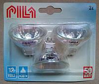 Галогенная лампа GU5.3 50W 12V Pila 3BL 36D