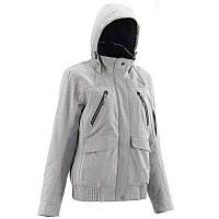 Куртка демисезонная женская  Quechua ARPENAZ 600 RAIN WARM серая