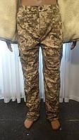 Военные брюки зимние Пиксель, на флисе р. 48 48