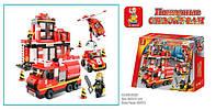 Конструктор Пожарные спасатели M38-B0226 SLUBAN