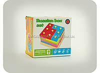 Деревянная игрушка для детей «Геометрические фигуры» 0405