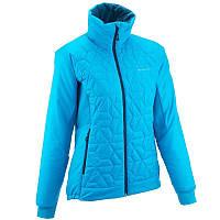 Куртка женская демисезонная Quechua TOPLIGH голубая