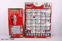 UKR Азбука PLAY SMART JOY TOY 7290 Букварик інтерактивний плакат муз.кор. 49423