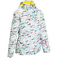 Куртка женская  лижная Wedze FREE 300 цветная