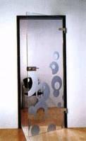 Внутренние межкомнатные стеклянные двери , фото 1