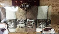 Кухонные качественные полотенца Кофе