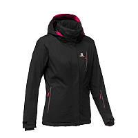 Куртка женская легкая лижная Salomon SLOPE черная