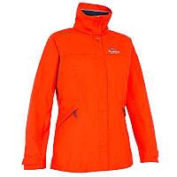 Куртка женская водонепроницаемая утепленная Tribord COASTAL 100 красная