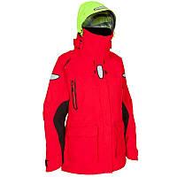 Куртка женская для яхтинга водонепроницаемая  Tribord OZEAN 900 красная