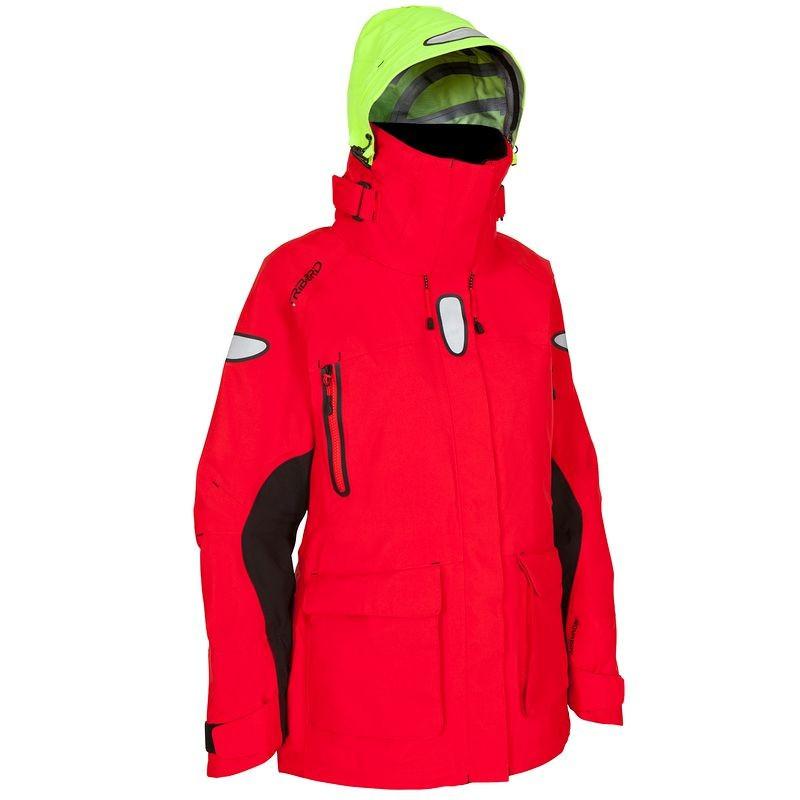 Куртка женская для яхтинга водонепроницаемая  Tribord OZEAN 900 красная - priyatili.com в Львове