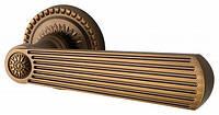 Дверные ручки межкомнатные ARMADILLO Romeo  коричневая бронза
