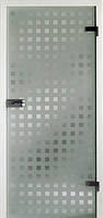 Стеклянные межкомнатные двери в алюминиевой раме