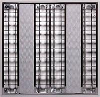 Светильник люминесцентный растровый встроенного типа e.lum.raster.flush.4.14.el с электронным ПРА, лампа Т5 4х
