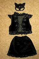 Кошечка чёрная - карнавальный костюм для девочки на прокат