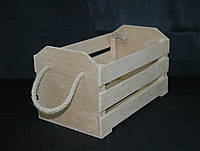 Заготовка для декорированя. Ящик фанерный, многоцелевой. 36х21х20(см)