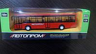 Автобус металл 7784 192шт2 АВТОПРОМ в коробке
