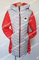 Зимняя куртка для девочки-подростка в расцветках