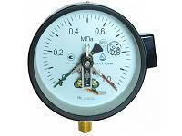 Манометр электроконтактный сигнализирующий модернизированный ДМ Сг 05100-01М, фото 2