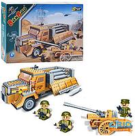 Конструктор BanBao 8232 военная машина инерционная, 250 дет