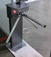 CENTURION турникет-трипод сервоприводный с электромеханической антипаникой, крашенный.