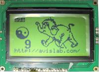 LCD панель WG12864A-YGK-TN /Winstar/