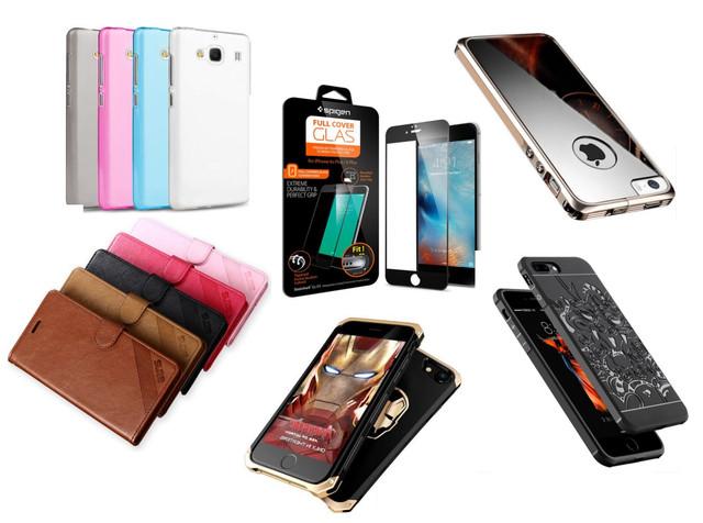 Силиконовые, книжки и другие чехлы для телефонов и смартфонов