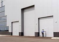 Ворота промышленные секционные ISD01 3500х3500 Doorhan