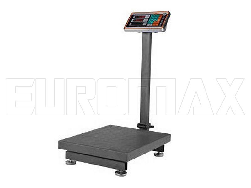 Электронные торговые весы Чемпiон 300 кг с усиленной платформой 42х52см