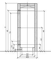 Теплоаккумулятор для системы отопления 500л