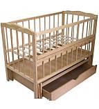 Детская кроватка Колисковий світ Малятко с ящиком на маятнике, фото 2
