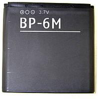 Аккумулятор копия для Nokia BP-6M/ 3250/ 6151/ 6233/ 6280/ 6288/ 9300/ N73/ N77/ N93