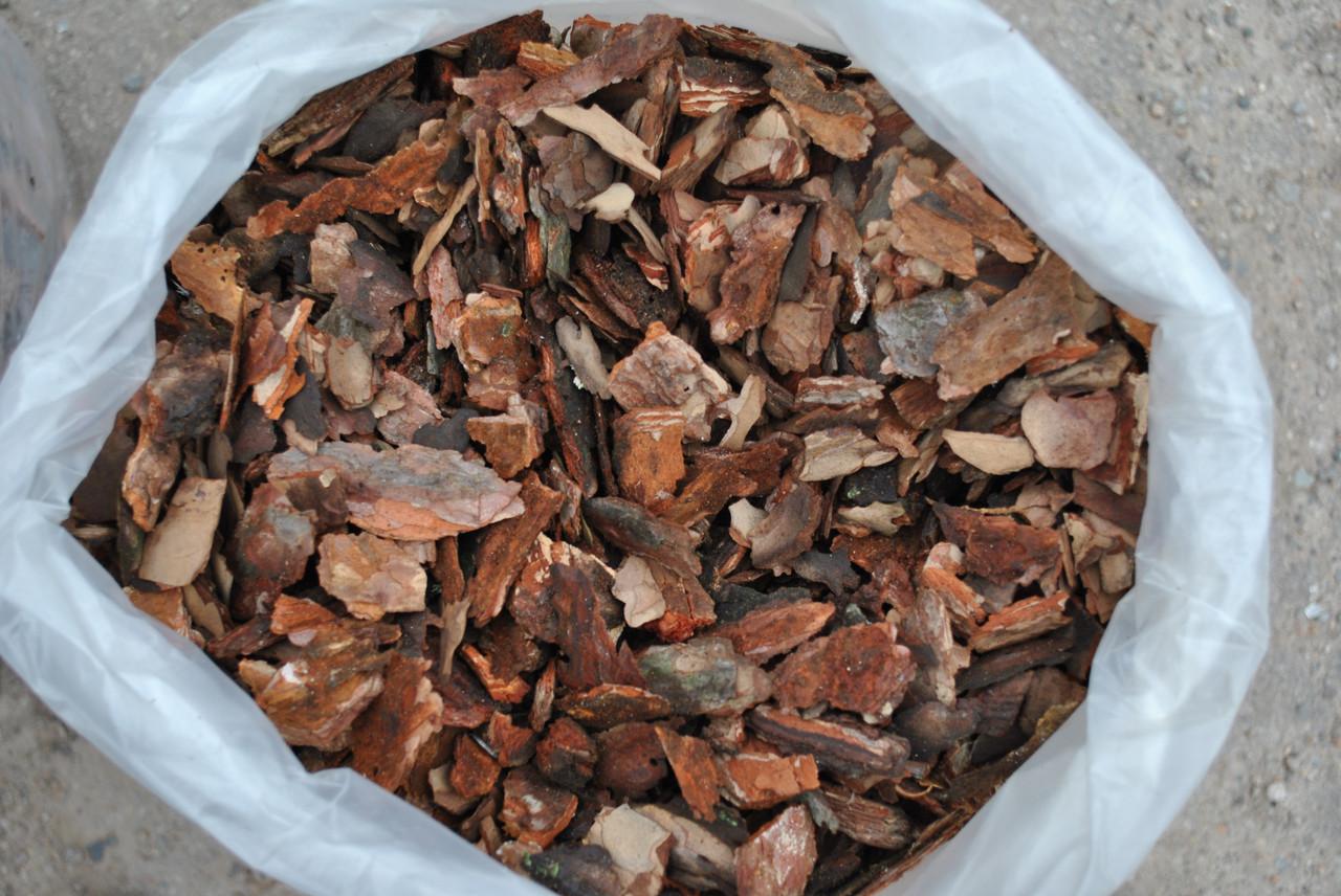 Кора сосновая мелкая (мешок 50 л.) 1-3 см