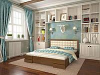 """Кровать """"Лилия"""" из дерева"""