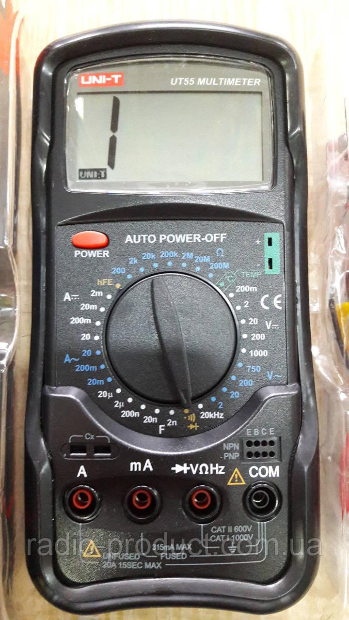 Цифровой мультиметр UNI-T UTM 155 (UT55)