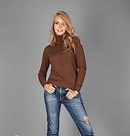 Вязанный женский зимний свитер