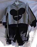 Детский костюм, на флисе,  мальчик,, купить детский костюм оптом со склада,IRT 1810 DK-0009